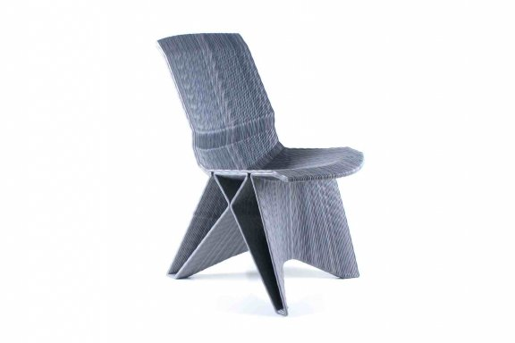Dirk Vander Kooij: Endless Pulse Low Chair (The Netherlands)